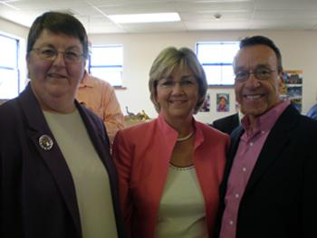 Ruth Hoffman, Diane Denish and Bill Jordan