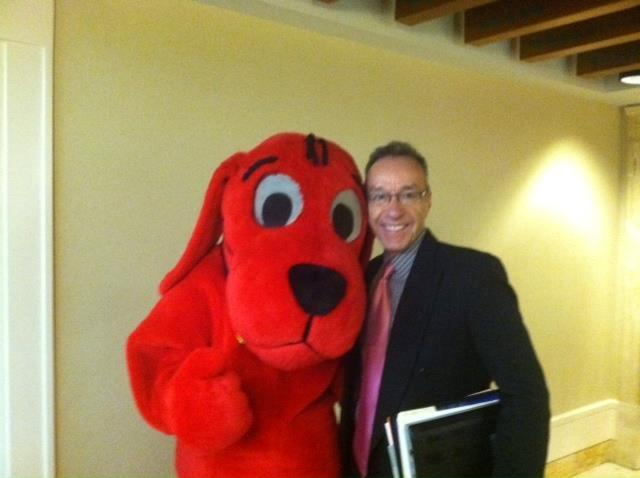 Bill and Clifford, Big Red Dog 2012