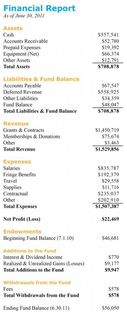 2011 annual report-financials