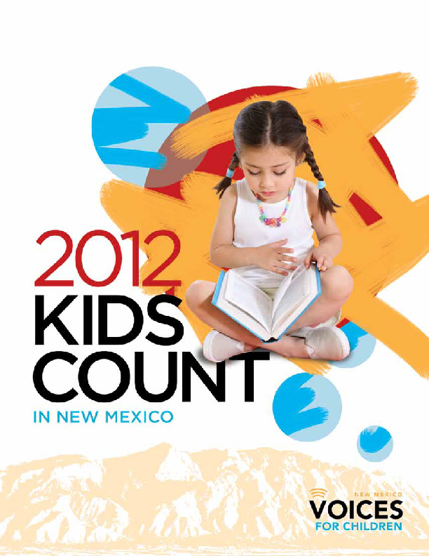 2012 NM Kids Count cover