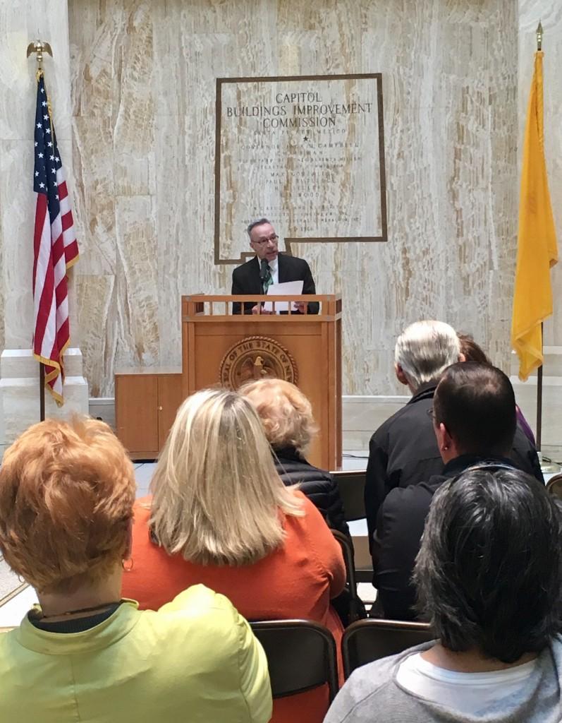 Bill Jordan speaking on End Hunger Day, 2-6-18